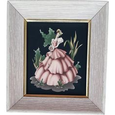 This vintage print by Turner is of a beautiful woman in a Southern Belle dress was made in the late 1940s - mid 1950s. It shows the wonderful air