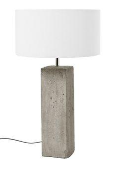 Concrete Fella Lamp
