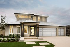 colorbond roof contemporary facade - Google Search