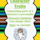 This packet works great with Unit 1 Week 4of Treasures: The Astronaut & the Onion   Character Trait Activities  Long i Word Sort  Character Trait ...