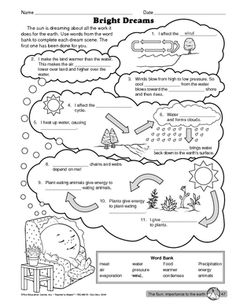 Photosynthesis Fill-In-The-Blank | Photosynthesis, Worksheets and ...