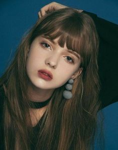 56 Trendy Fashion Girl Face Bangs in 2019 Aesthetic People, Aesthetic Girl, Face Aesthetic, Estilo Beatnik, Japonese Girl, Beauty Makeup, Hair Makeup, Cute Girl Face, Dating Girls