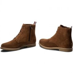 Kozaki TOMMY HILFIGER - William 3B FM0FM01018 Winter Cognac 906