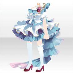 タワー オブ クロスワールド|@games -アットゲームズ- Anime Girl Dress, Anime Art Girl, Diy Clothes Design, Fashion Designer Quotes, Cute Dresses, Cute Outfits, Cocoppa Play, Model Outfits, Anime Hair