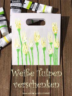 DIY – Wenn du Tulpen malen möchtest, dann bitte nur mit Gabel! - HELLO MiME!