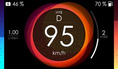 Renault EOLAB Concept - HMI Dashboard App, Dashboard Interface, Interface Design, Car Ui, Web Design, Graphic Design, Thermal Imaging Camera, Gaming Banner, Mobile Ui Design
