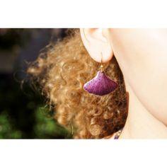 70's Laurel Burch Sterling Enamel Purple Earrings ($115) ❤ liked on Polyvore featuring jewelry, earrings, enamel earrings, purple earrings, earring jewelry, dot earrings and dot jewelry