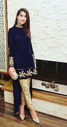 Winter Velvet Dresses Designs Latest Trends Collection 2018-2019 ... 347577202
