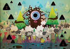 Jonathan Ball y PokedStudio son los creadores de los coloridos mundos y personajes cute y/o kawaii de caracter entrañable y rostos ojipláticos que os traemos esta mañana. Monstruitos, robots, mutantes, ositos de peluche, alienígenas, criaturas varias o plantas y comida con cara de simpáticas. Ojos sorprendidos y bocas siempre entreabiertas.    www.restosdecultura.com