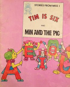 TIM IS SIX AND MIN AND THE PIG Children's Phonics Audio Book Read Aloud,...