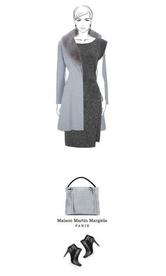 """""""Office outfit: Gray"""" by downtownblues ❤ liked on Polyvore featuring Givenchy"""
