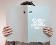 Three Absurd Tools For Coping With Waiting Room Misery  PHILIP LÜSCHEN'S WAITING ROOM SURVIVAL KIT MAKES LIGHT OF PRE-APPOINTMENT FRUSTRATIONS. #Philip_:  Luschen