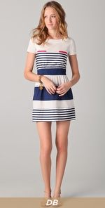 PHILOSOPHY DI ALBERTA FERRETTI  Striped Dress