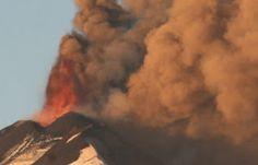 diário do terceiro mundo:  Erupção vulcânica alarma Chile e cinzas chegam à ...