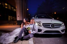 Waggie and Henry Trash the dress session