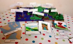 Capers and Peanuts: Different clay reliefs Montessori Science, Gift Wrapping, Clay, Education, Gifts, Peanuts, Nature, Dolphins, Cards