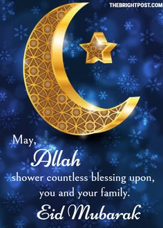 """The meaning of Eid is """"celebration"""" and mubarak means """"blessed"""". Some of the best Happy Eid Mubarak blessings Quotes for Whatsapp Status."""
