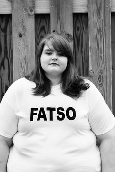 My name is Karissa and I'm a 'FATSO'. I can't remember a time when I haven't struggled with my weight. Being an 18 year old girl, there's a lot of pressure from the media to be thin and pretty. It's caused me a lot of emotional problems and the people of the world don't make me feel any better about it. Most people tend to point or snicker and they almost always stare. I understand that I'm quite large, thank you, but could you stop gaping for a few moments? I'd like to be gargantuan in…