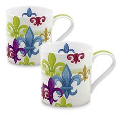 Konitz Fleur de Lis Mug