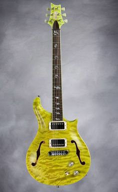Paul Reed Smith Private Stock #3240 Dweezil Zappa Lemongrass #5 of 50 (New/mint/unplayed) | Reverb
