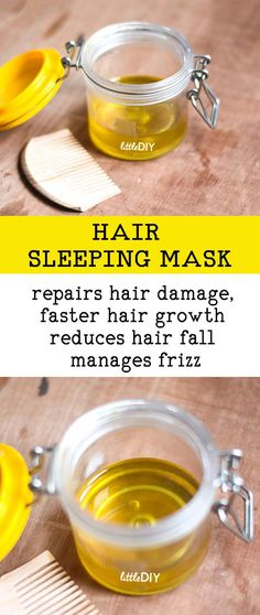 Natural Remedies For Hair Growth Sleeping masks always work the best and better than usual masks that you keep for an hour or so. This is because when the masks are used before bedtime, they. Natural Hair Mask, Natural Hair Growth, Natural Hair Styles, Diy Hair Growth Oil, Hair Mask For Growth, Overnight Hair Mask, Belleza Diy, Overnight Hairstyles, Reduce Hair Fall