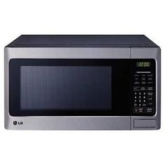 LG 1.1 Cu. Ft. 1000 Watt Microwave Oven - Stainless Steel LCS1112ST : Target