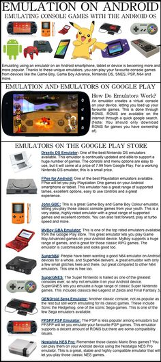 Emulating Old School Console Games on Android Tablets and Smartphones
