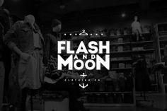 Flash & Moon Logo Concept by sayedazaan (via Creattica)