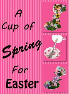 A Cup of Spring for Easter