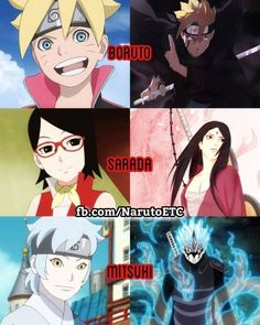 I don't like boruto....Sarada is the most decent female character naruto ever had ....and mitsuki won't turn bad....he will be a good man...not like sasuke but more like Gray