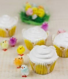 Objetivo: Cupcake Perfecto.: La invasión de los pollos!!! (Cupcakes de Limoncello)
