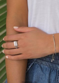 Spotlight Stack Ring