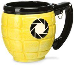 ThinkGeek :: Portal 2 Lemon Grenade Mug