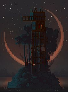 Stunning Pixel Art Created by Waneella