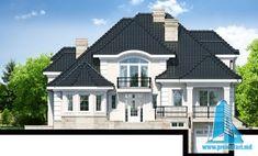 Proiectul de Casa de locuit cu parter, mansarda, demisol si garaj | Proiectari si Constructii Unique House Design, Modern Bedroom Design, Bungalow House Design, Facade House, Home Design Plans, Design Case, Home Fashion, Home Builders, Villa
