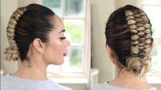 85 Box Braids Hairstyles for Black Women - Hairstyles Trends Short Hair Styles Easy, Short Hair Updo, Curly Hair Styles, Braided Hairstyles Tutorials, Box Braids Hairstyles, Peinado Updo, Ribbon Hairstyle, Infinity Braid, Long Hair Video
