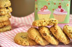 Geschenk 1. Advent * Sandra von from-snuggs-kitchen an Carrie-Ann von I heart Emmi * Donna Hays Müsli Cookies