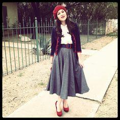 Circle skirts are my fav