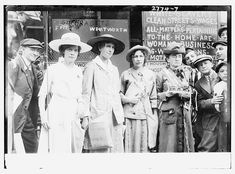 Suffragets [i.e., suffragettes] Freeman, Wentworth, strong women