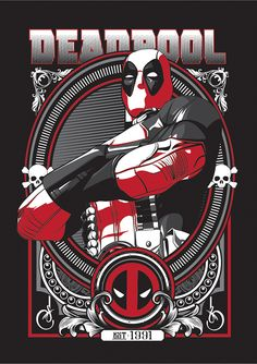 Deadpool on Behance