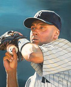 NY Yankees Derek Jeter by James Fiorentino