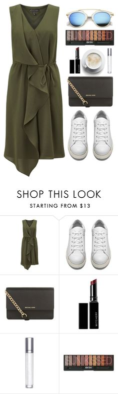 """""""Simple Outfit #99"""" by rizkafathi ❤ liked on Polyvore featuring Adrianna Papell, Acne Studios, MICHAEL Michael Kors, Witchery, shu uemura, ZeroUV and polyvoreeditorial"""