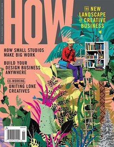How versteht sich als Magazin für die Kreativ-Wirtschaft. Das Cover passt zumindest schon einmal zum eigenen Anspruch.