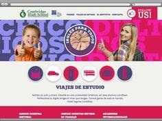 Mirá que bueno quedó el sitio web del Cambridge High School de Quilmes www.cambrigdeingles.com.ar