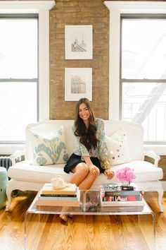Style at Home: Kat Tanita Of With Love From Kat / Trent Bailey Photography.   theglitterguide.com