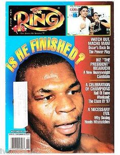 THE+RING+BOXING+MAGAZINE+Mike+Tyson+November+1997