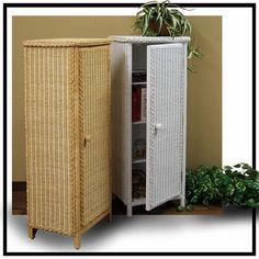 Charming Wicker Jelly Cabinet