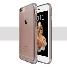Coque iPhone 6 / 6s Se-Flex Transparent Gris