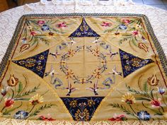 Vintage Table Cloth  - France