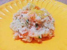 Risotto gamberetti e limone http://www.lovecooking.it/primi-piatti-e-risotti/risotto-gamberetti-e-limone/